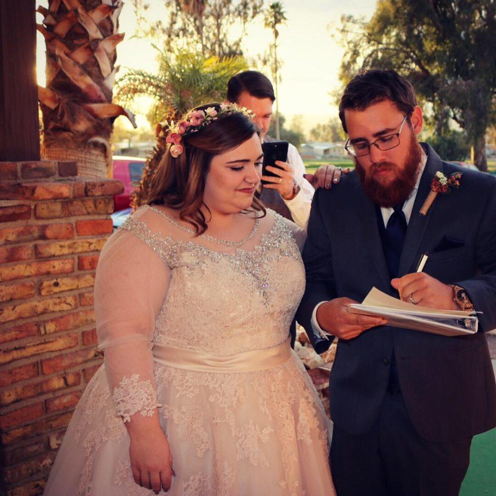 plus size long sleeve wedding dress