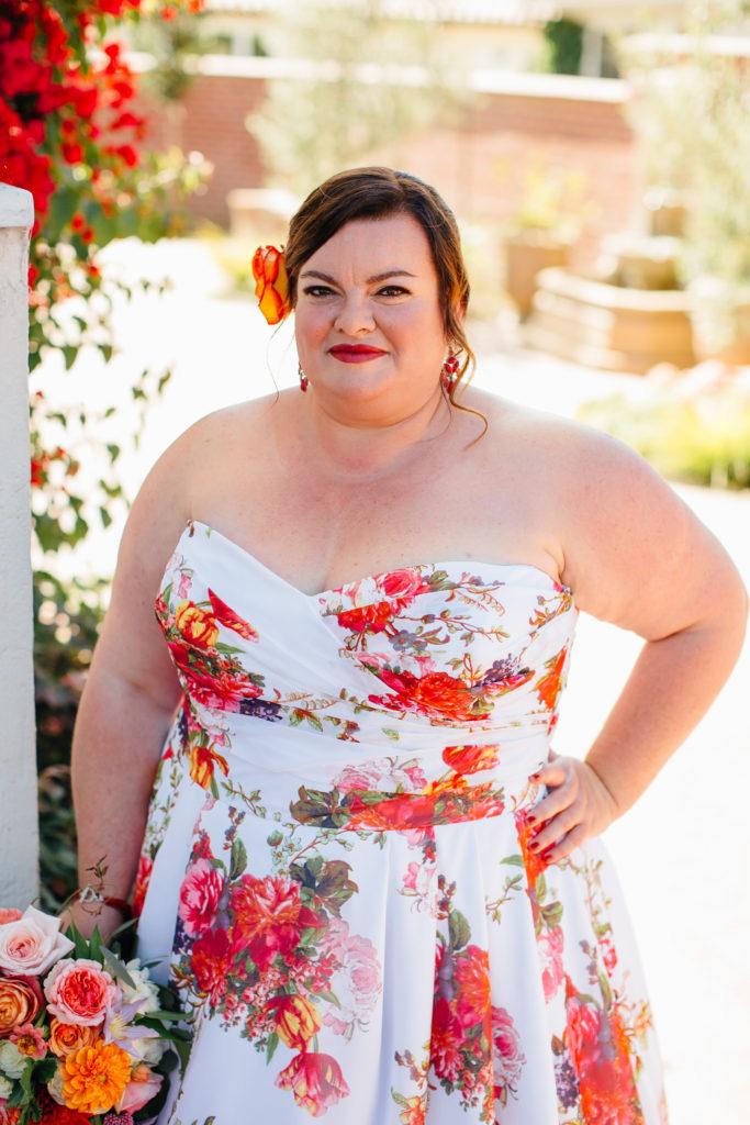 real plus size bride Los Angeles