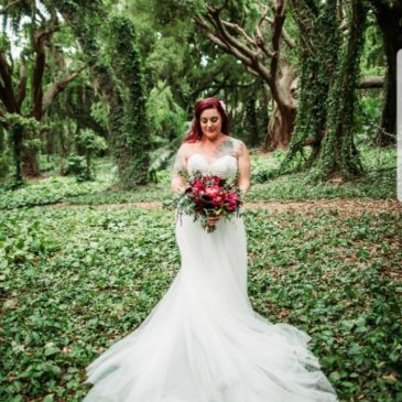 Anna's Maui Beach Wedding Dress